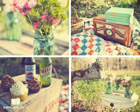 vintage picnic inspiration